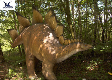 China Robotic Sightseeing Realistic Dinosaur Models , Life Size Dinosaur Models  supplier