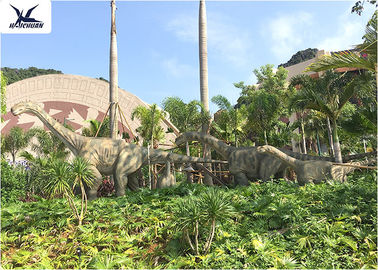 Outside Animatronic  Dinosaur Mouth Open And Close With Synchronized Sound