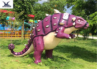 China Well-received Outside Display Lifelike Customized Fiberglass Dinosaur Statues company