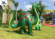 China Garden Large DinosaurLife Size Fiberglass Statues Cartoon Shape For Outside Decoration company