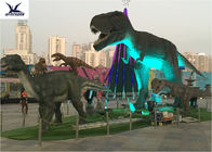 China Animatronic Lifesize Mechanical Outdoor Dinosaur With Light 110/220V company
