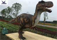 Life Like Mechanical Outdoor Dinosaur Statues Foreleg Movement / Remote Control