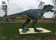 China Jurassic Realistic T Rex Lawn Ornament Waterproof / Sunproof / Snowproof factory