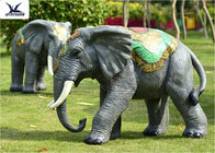 Large Elephant Statue ,  Animatronic Robotic Life Size Elephant Figurines
