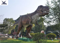 China Attractive Dinosaur Lawn Ornament For Jurassic Park , Decorative Animal Garden Ornaments  company