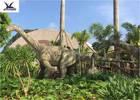 China Realistic Full Size Dinosaur Lawn Decorations Artificial Moving Dinosaur Model factory