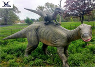 China Dinosaur Replicas Life Size , Dinosaur Garden Sculpture For Forest Playground Decoration company