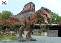 China Attractive Animatronic Jurassic Dinosaur Garden Ornaments Mouth Movement With Sounds factory