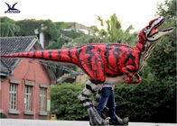China Simulation Walking Real Life Dinosaur Costume Controlled By Human / Hollywood Movie Props company