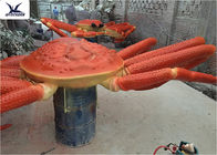 China Playground Indoor High Simulation Giant Animatronic Animals Realistic Crab Model company