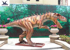 China Playground Automatic Dinosaur Garden Ornaments With Mouth Open / Close factory