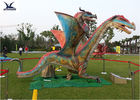 China Remote Control Outdoor Exhibition Dinosaur Lawn Decorations Artificial Dragon Model factory