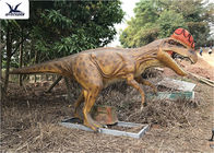 China Realistic Silicone Life Size Model Dinosaurs , Forest Dinosaur Garden Ornaments factory