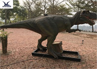 China Dinosaur World Display T Rex Lawn Ornament Giant Realistic Outdoor / Indoor factory