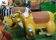 China Cartoon Ride On Motorized Stuffed Animals For Amusement Park / Game Center factory