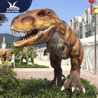 Big Infrared Sensor Outdoor Dinosaur With Eyes Blink Forepaws Moving