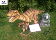 Decorative Life Size Dinosaur Models For Lawn Viewing Turn Neck Left And Right