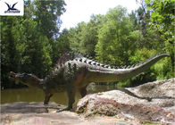 China Large Outdoor Dinosaur Garden Ornaments With Silicon Rubber Durable 200-800W factory