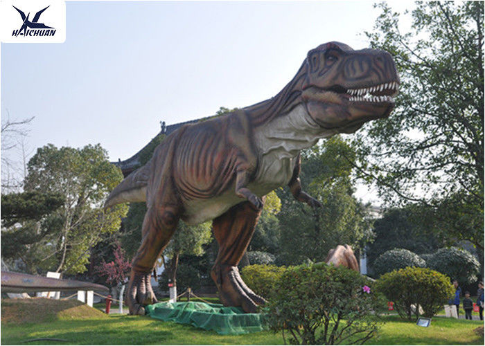 Attractive Dinosaur Lawn Statue For Jurassic Park , Decorative Animal Garden  Ornaments