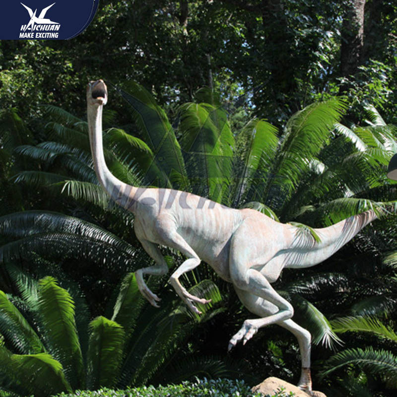 Sunproof Outdoor Realistic Dinosaur Models For Amusement Park 110/220V