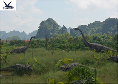 China Realistic Ultra Giant Dinosaur Model For Jurassic Forest Decoration 110/220V factory