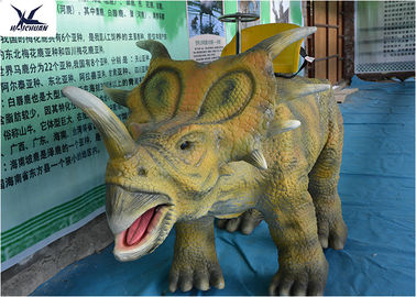 China Dinosaur Theme Park Facility Large Ride On Dinosaur Kids Attractive Riding Dinosaur factory