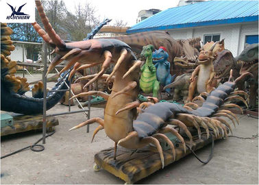 China Sunproof High Simulation Insect Models , Handmade Amusement Park​ Life Size Statues  factory