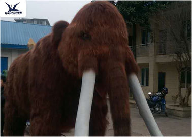 China Large Animatronic Animals Artificial Models With Hair / Infrared Control Sensor factory