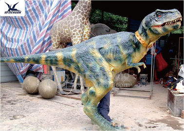 Lovely Animatronic Real Life Dinosaur Costume Walking Human Operated Costume