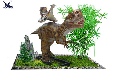 China High Simulated Large Animatronic Dinosaur Ride Toys Lifesize / 5 - 6 Hours With Full Battery factory
