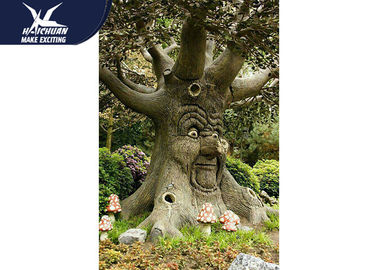 China Durable Funny Animatronic Talking Tree In Zoo Parks Customized Size factory