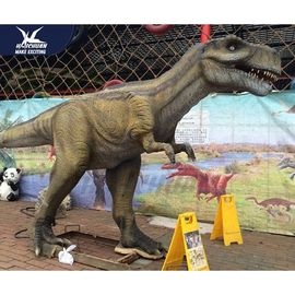 China Giant Realistic Dinosaur Models Belly Breathing For Exhibition In Museum Coin Operated factory