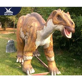 China Big Size Animatronic Dinosaur Statues For Garden Decoration Remote Control factory