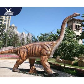 China Jurassic Theme Park Realistic Dinosaur Models / Life Size Dinosaur Statues For Child factory