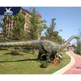 China Waterproof Mechanical Realistic Dinosaur Models For Playground And Luna Park factory