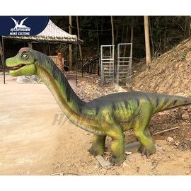 China 3D Animated Realistic Dinosaur Statues In Jurassic Theme Park Weather Resistant factory