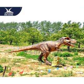 China Large Realistic Dinosaur Models For Luna Park / Alive Dinosaur Garden Art factory