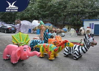 China Coin Operated Motorized Animal Scooters Shopping Mall Decoration Dinosaur Bones factory