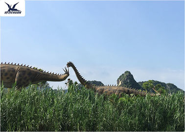 China Windproof Infrared Sensor Outdoor Dinosaur Statues In Garden And Playground factory